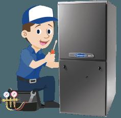amazing hvac character fridge