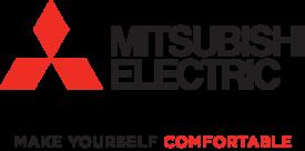 Mitsubishi Electric Make Yourself Comfortable (Vertical Red/Black)